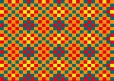 De textuur van de vierkanten Stock Afbeelding