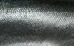 De textuur van de vissenschalen van de zalm grunge Stock Afbeelding