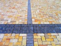 De textuur van de weg Stock Fotografie