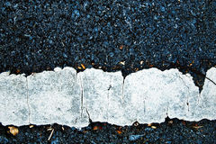 De Textuur van de weg Royalty-vrije Stock Foto's