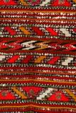 De textuur van de wol Stock Foto