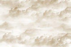 De textuur van de wolk Stock Fotografie
