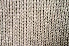 De textuur van de wolsweater Royalty-vrije Stock Foto's