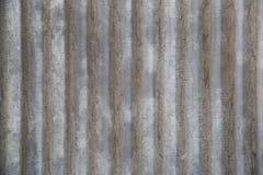 De textuur van de zinkplaat Stock Afbeelding