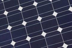 De Textuur van de zonnecel Stock Foto