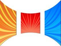 De textuur van de zonnestraal Royalty-vrije Stock Afbeelding