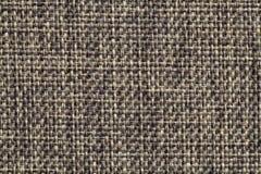 De textuur van donkergrijze stoffenachtergrond Royalty-vrije Stock Afbeeldingen