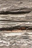 De textuur van een houten muur Stock Foto