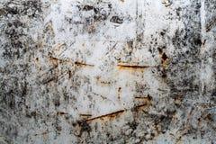 De Textuur van een Metaalplaat Stock Afbeeldingen