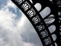 De textuur van Eiffel Stock Foto