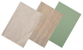 De textuur van gerecycleerd Stock Afbeelding