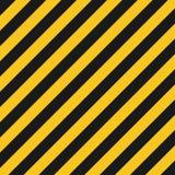 De textuur van gevaarstrepen Industriële gestreepte weg, de waarschuwing van de bouwmisdaad royalty-vrije illustratie