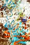 De textuur van Graffiti Stock Foto's
