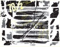 De textuur van Grunge Decoratieve achtergrond Abstract vectormalplaatje Stock Afbeelding