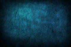 De textuur van Grunge en achtergrondblauw Stock Afbeeldingen