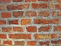 De textuur van het bakstenen muurdetail Stock Foto