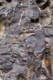 De Textuur van het basalt royalty-vrije stock afbeelding