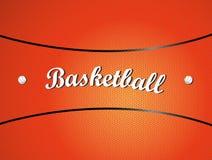 De textuur van het basketbal Royalty-vrije Stock Afbeeldingen