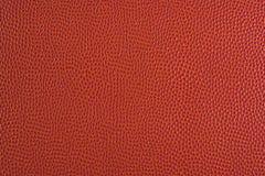 De textuur van het basketbal Stock Foto's