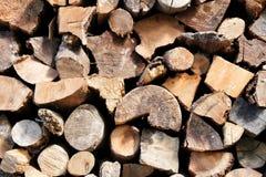 De textuur van het besnoeiingsbrandhout royalty-vrije stock fotografie