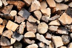 De textuur van het besnoeiingsbrandhout royalty-vrije stock afbeelding