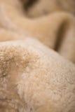 De textuur van het bont Stock Afbeeldingen