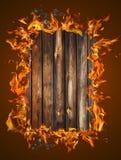 De textuur van het brandhout stock fotografie