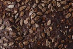 De textuur van het brood Royalty-vrije Stock Afbeeldingen