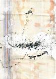 De textuur van het canvas royalty-vrije illustratie