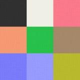De textuur van het canvas Stock Fotografie