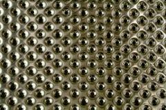 De textuur van het chroom Stock Afbeeldingen