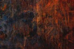 De textuur van het Cortenstaal, die staalpatroon als achtergrond doorstaan, oranje en bruine royalty-vrije stock foto