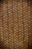 De textuur van het de ambachtpatroon van het bamboe Royalty-vrije Stock Foto