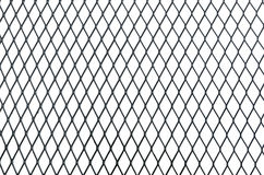 de textuur van het draadnet op witte achtergrond wordt geïsoleerd die Stock Foto