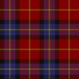 De textuur van het geruite Schotse wollen stof Royalty-vrije Stock Foto