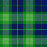 De textuur van het geruite Schotse wollen stof Royalty-vrije Stock Fotografie