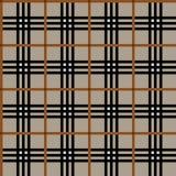 De textuur van het geruite Schotse wollen stof Royalty-vrije Stock Afbeelding