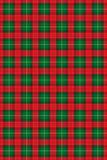 De textuur van het geruite Schotse wollen stof, vector Stock Fotografie