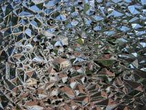 De textuur van het glas stock afbeelding