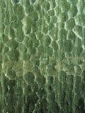 De textuur van het glas: Groen Stock Foto