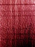 De textuur van het glas: Rood Royalty-vrije Stock Afbeelding