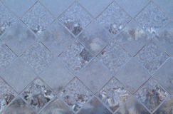 De textuur van het glas van de vensters Royalty-vrije Stock Fotografie