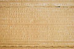 De Textuur van het golfKarton Stock Fotografie