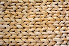 De textuur van het Handcraftweefsel Stock Afbeeldingen