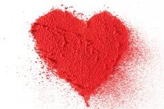 De textuur van het hart Royalty-vrije Stock Foto's