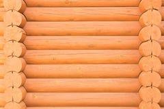 De textuur van het houten logboekbad Natuurlijke houten achtergrond royalty-vrije stock foto's