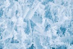 De textuur van het ijs royalty-vrije stock fotografie