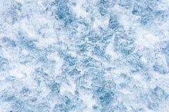 De textuur van het ijs Royalty-vrije Stock Afbeelding