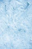 De textuur van het ijs Stock Afbeelding