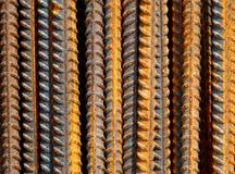 De textuur van het ijzer stock afbeeldingen